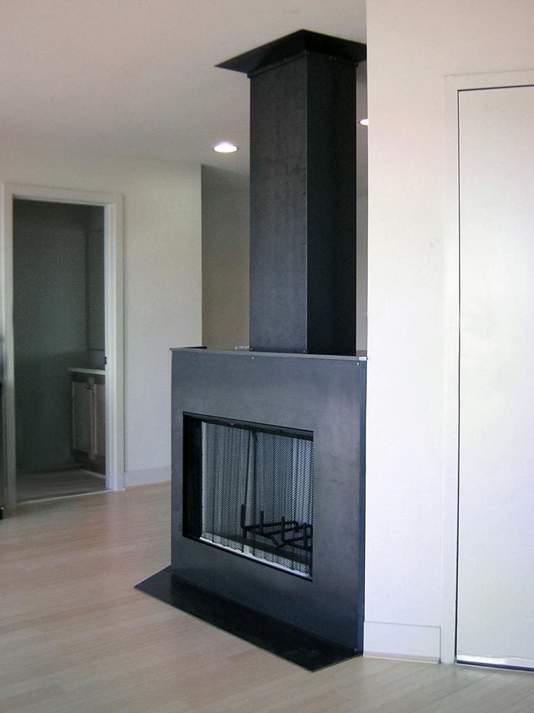 gutierrez studios installations healthy planet fireplace